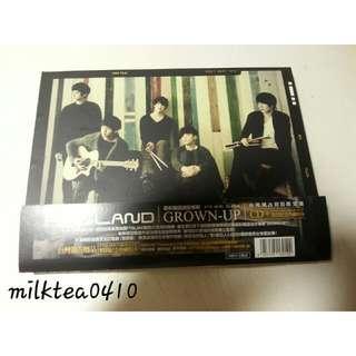 FTISLAND GROWN-UP 台灣獨占初回限定盤 CD 全新未聽過
