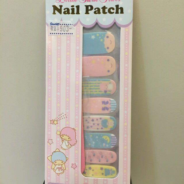 ⬇️降價優惠!日本彩繪指甲貼雙子星