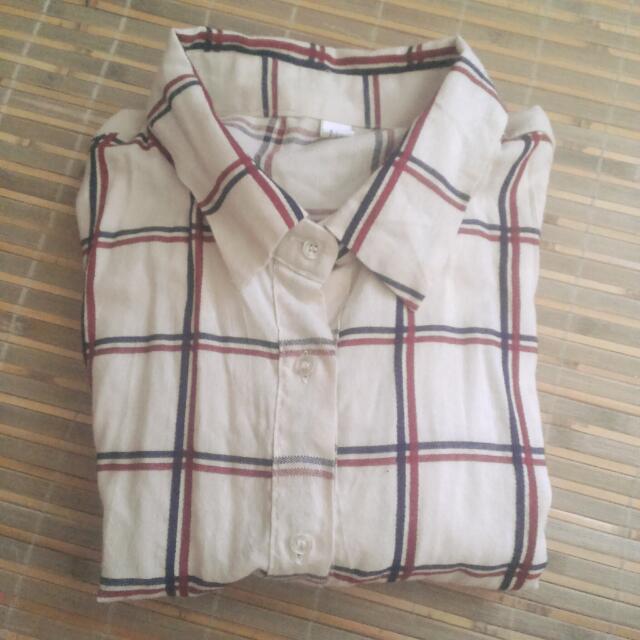 (保留~9/8)格子襯衫