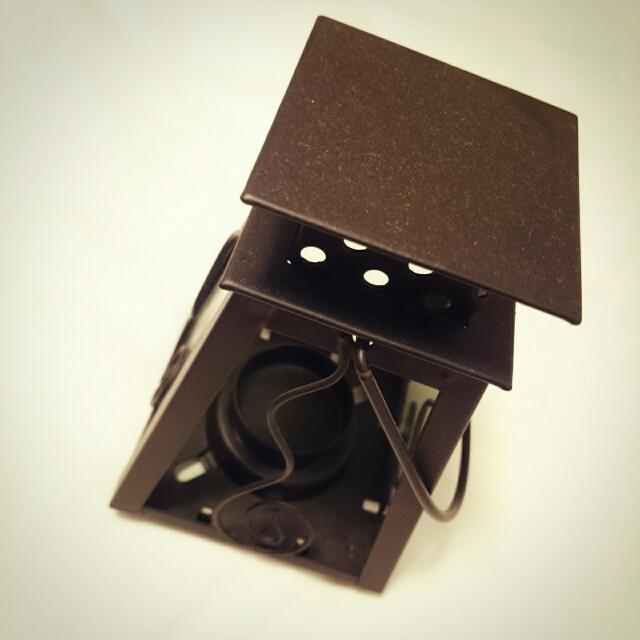 💫二手💫   復古鍛鐵螺旋造型手提燭臺