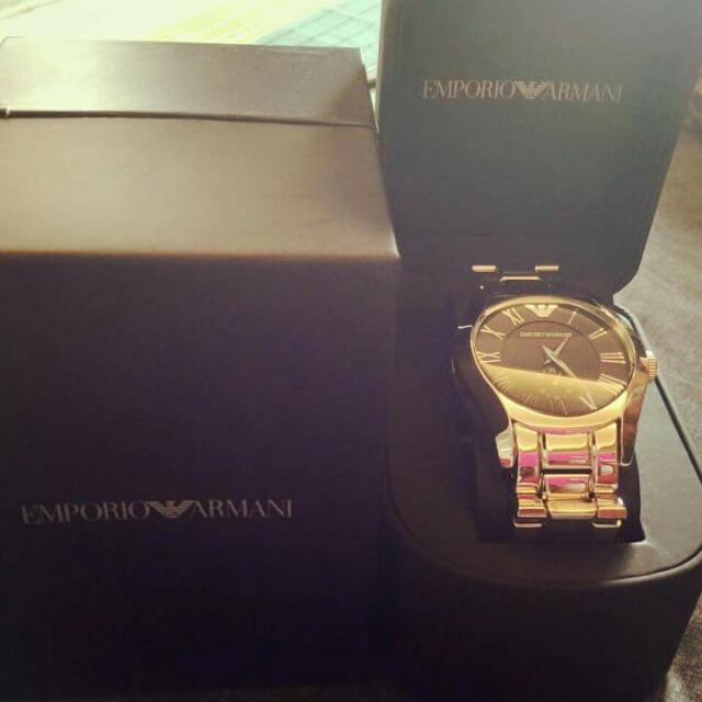 正品  Armani手錶 可驗貨 假一賠十