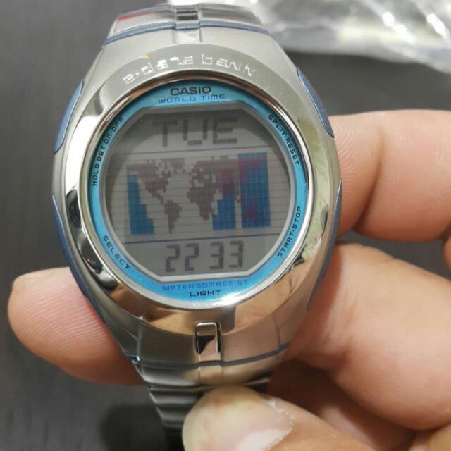 Casio鋼錶