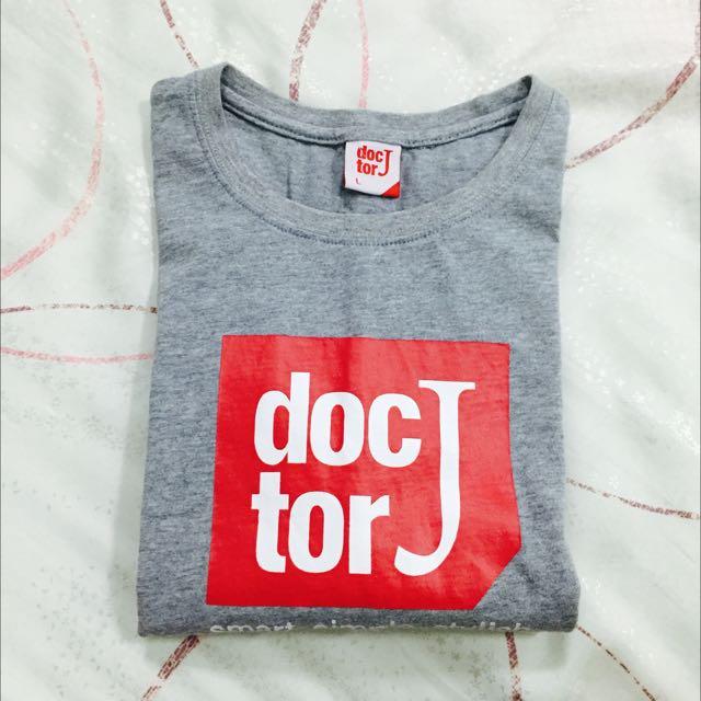 🔴🔴Doctor J 基本logo灰色上衣🔴🔴