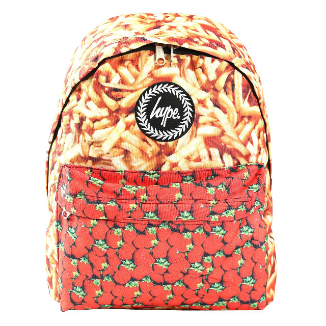 HYPE CHIPS AND STRAWBERRIES BACKPACK