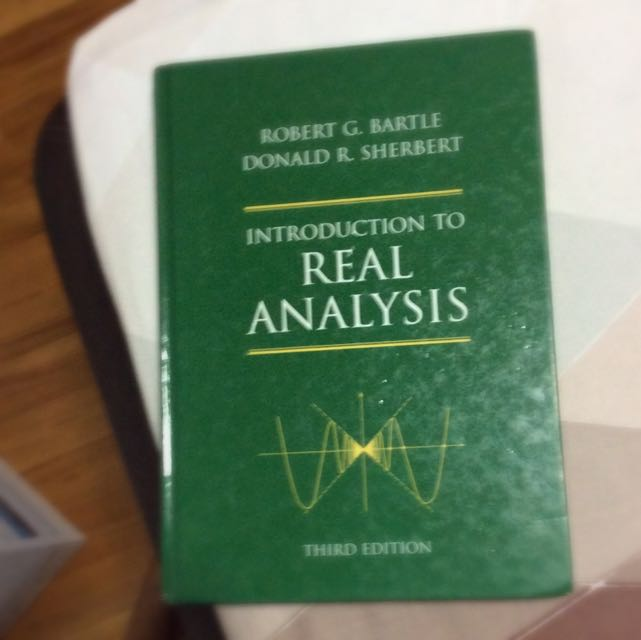 Introduction To Real Analysis Third Edition