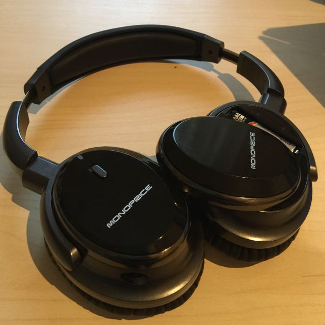 e5c5876f33e Monoprice Noise Cancelling Headphone w/ Active Noise Reduction Technology,  Electronics on Carousell