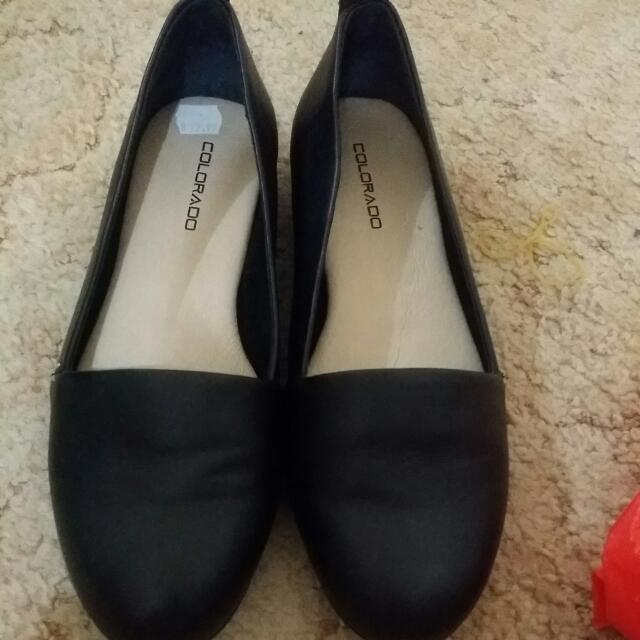Real Leather Flat Shoes
