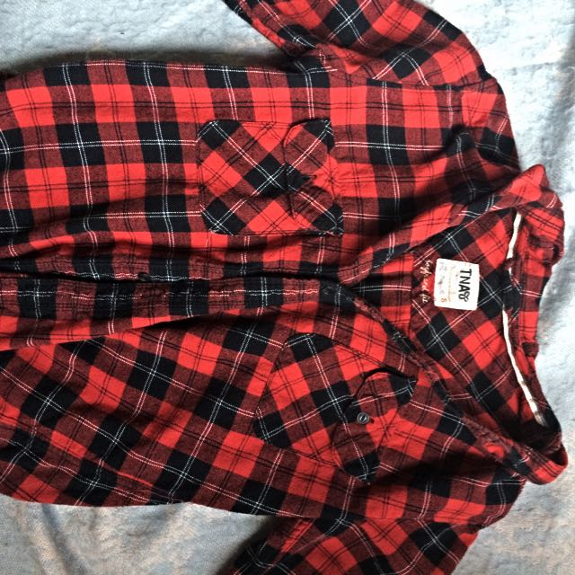 Red TNA flannel
