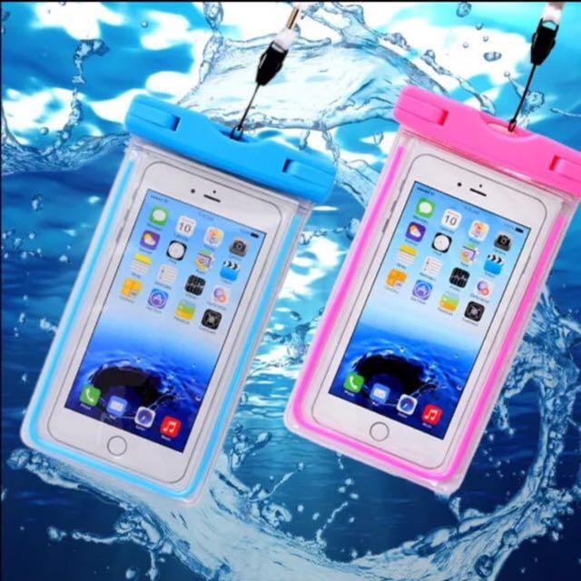 Sony Samsung iPhone HTC Lg 手機防水袋 白色現貨
