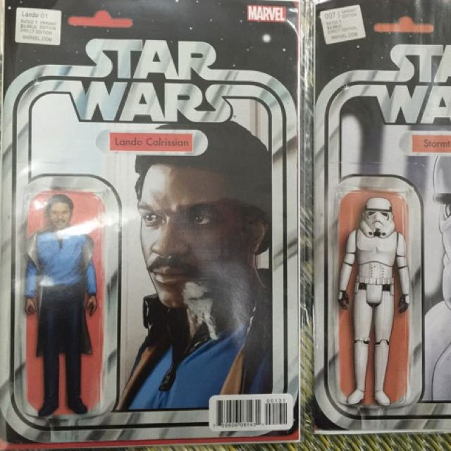 Star Wars # 13 Action Figure Variant Cover NM Marvel