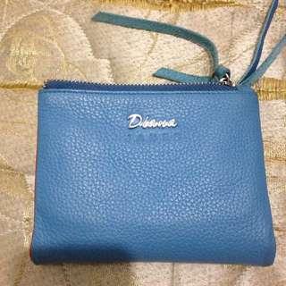 Diana真皮 短夾