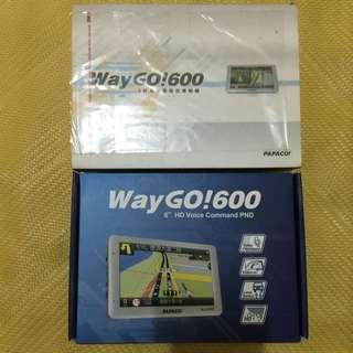 PAPAGO WayGO! 600 6吋聲控GPS衛星導航