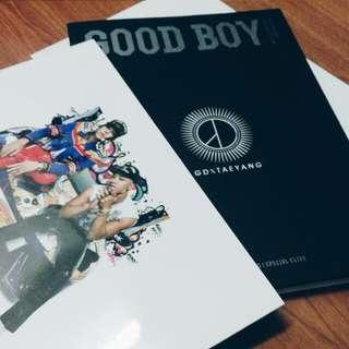 GD X TAEYANG  [GOOD BOY]專輯特別盤 韓國進口(已絕版)