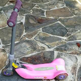 Razor 3-Wheeled Scooter And Tricycle (No Brand) For Your Princess