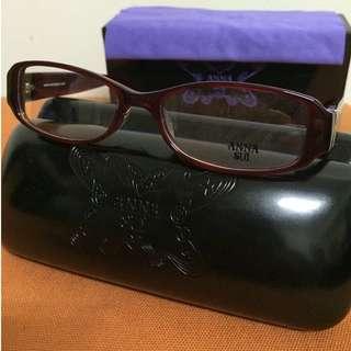 眼鏡 ANNA SUI 安娜蘇 AS500 206-Red Demi 保證正品 全新