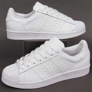 待匯款)Adidas Superstar 全白
