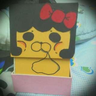 卡片立體盒(內有假蛋糕)