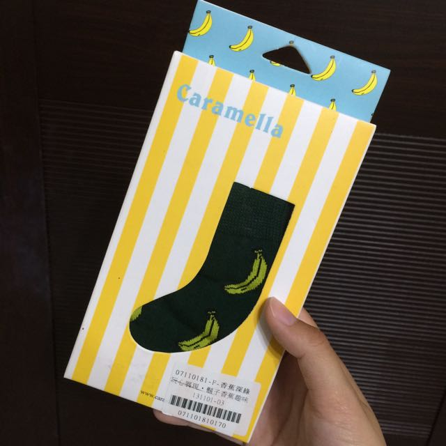 ✨加購大降價✨香蕉襪深綠