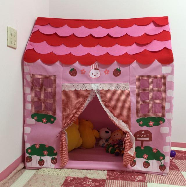 聖誕節好選擇!粉紅遊戲屋
