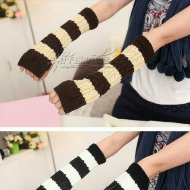 含運-針織造型保暖手套