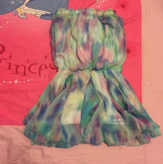 降!平口渲染小洋裝 連身裙