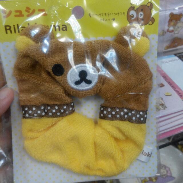 日本限定新品-拉拉熊&牛奶熊髮飾
