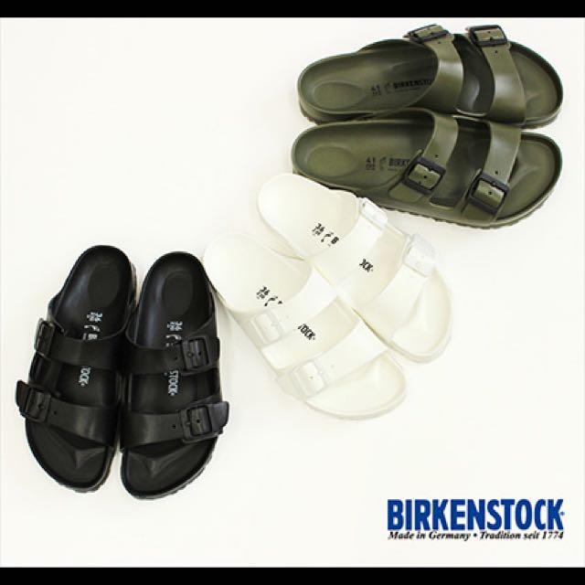 勃肯 Birkenstock Eva 防水 拖鞋 黑
