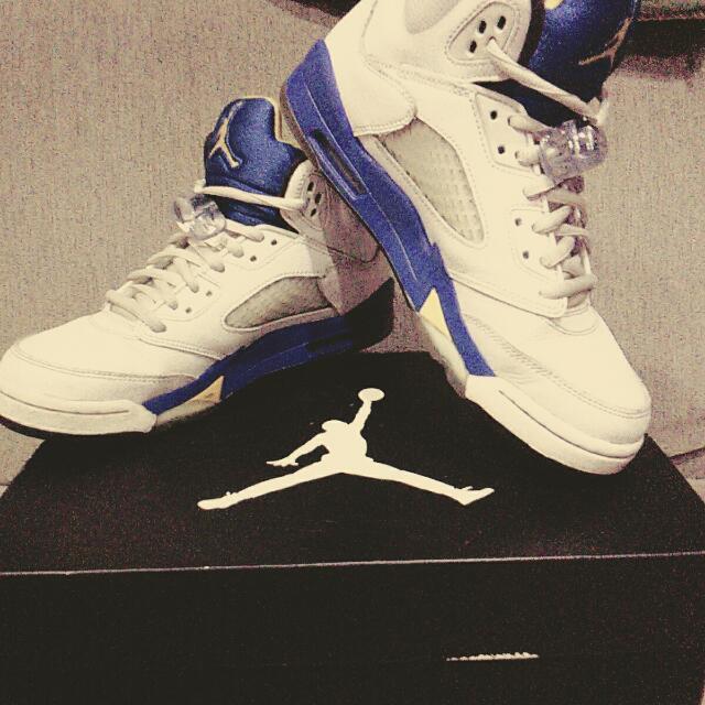 🎉降價了🎉 AIR JORDAN 5 retro AJ5藍尼 籃球鞋