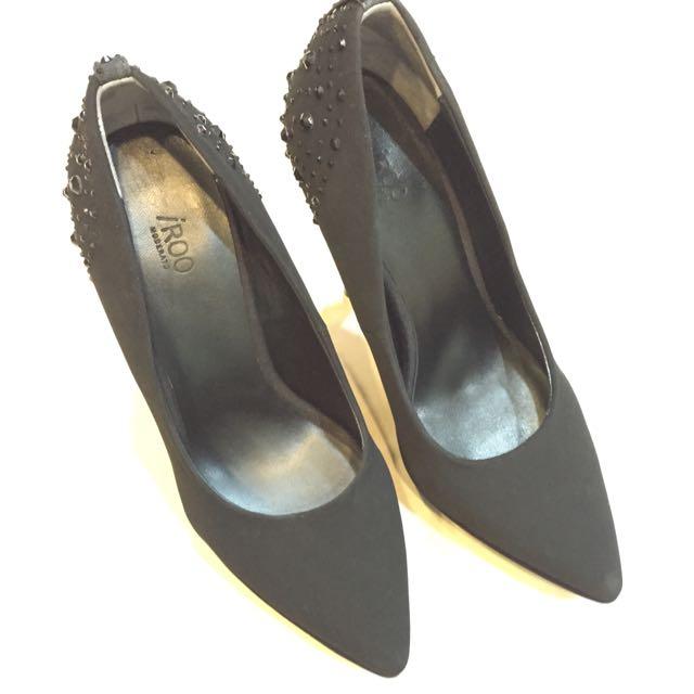 iROO 全新 黑色高跟鞋 36號 (23)