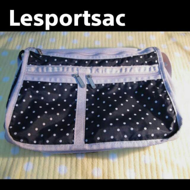 Lesportsac★點點斜背包