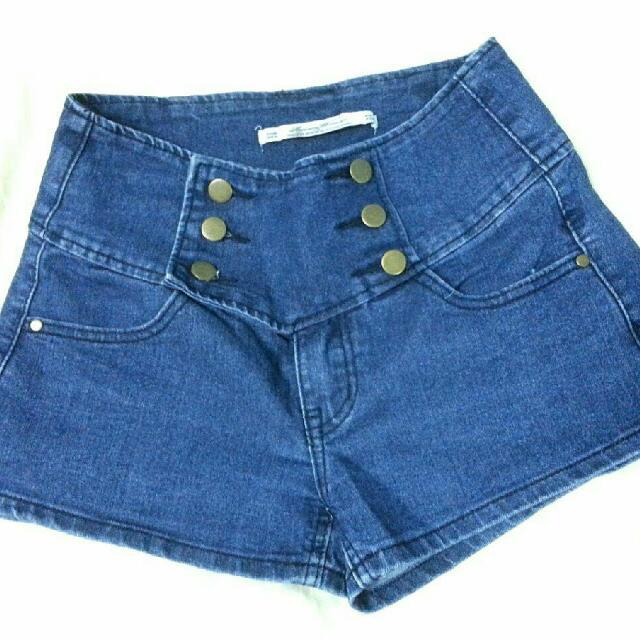 高腰短褲M