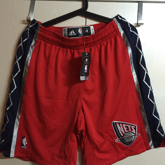 525edc1d78a New Jersey Nets Adidas Authentic NBA Revolution 30 Shorts Size M+2, Sports  on Carousell