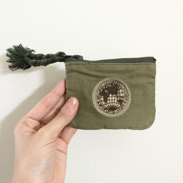 Real National Geography Coin Pouch