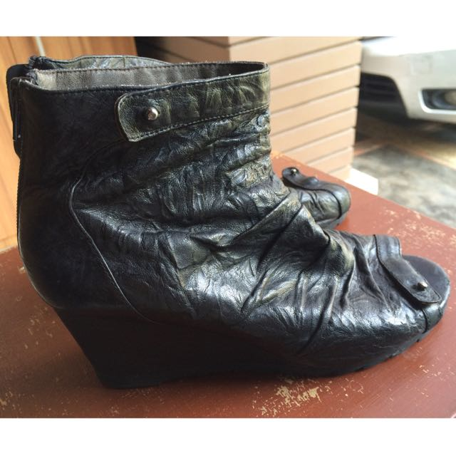 Staccato Boots Open Toe