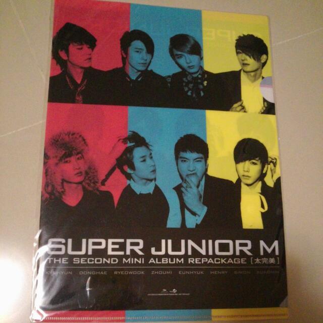 Super Junior M太完美資料夾