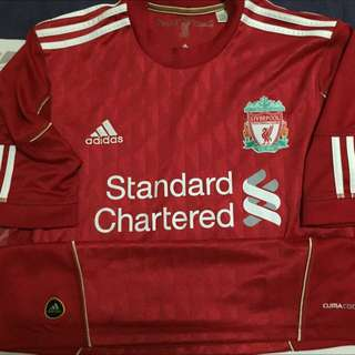 Liverpool Jersey (Home) Back Was No Name And Number!