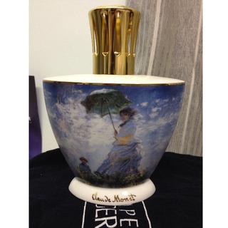 Lampe Berger Item #3554 - Madame Monet (Light Gold Top) Year 2005