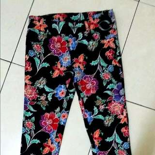 batik cotton pants