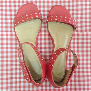 👠紅色涼鞋👠