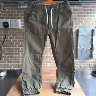 New H&M long cargo pant (size us 5-6)