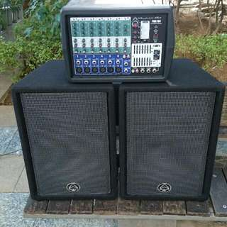 PA System Wharfedale Speakers