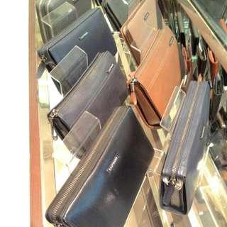 Wallet+Clutchbag+leather