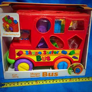 *reserved* Funtime Shape Sorter Bus