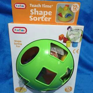 *reserved* Fun Time Shape Sorter