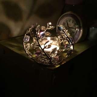 施華洛世奇水晶燭台 蠟燭台 Swarovski