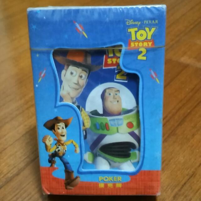 迪士尼正版⛄玩具總動員2撲克牌