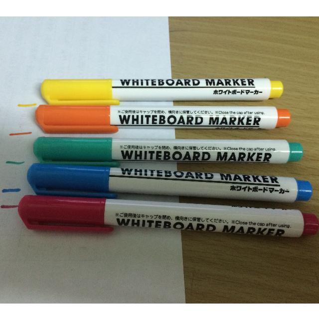 5色白板筆