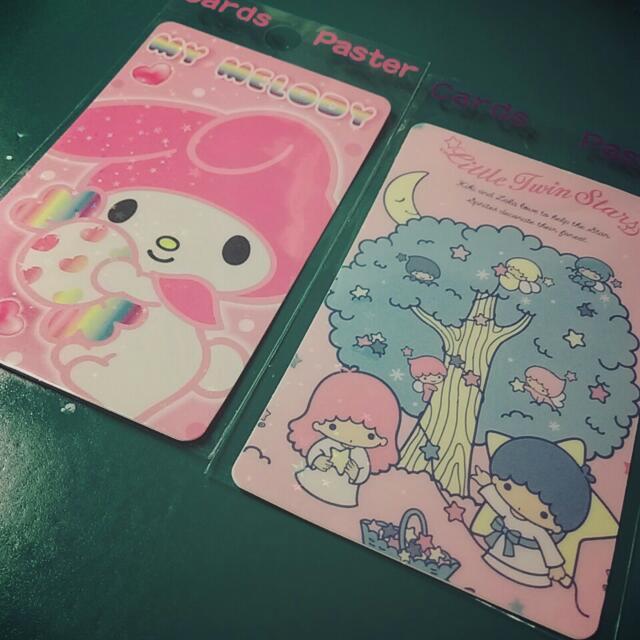 《降》三麗鷗卡貼/卡通貼紙