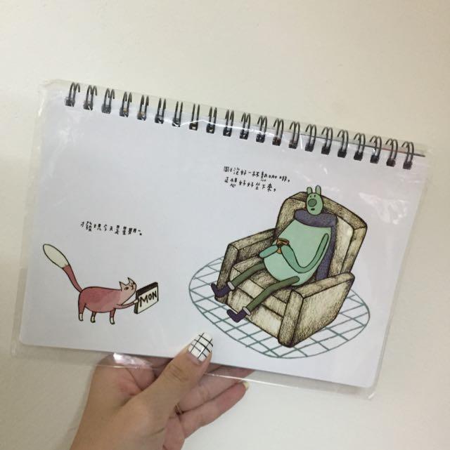 手繪風行事曆