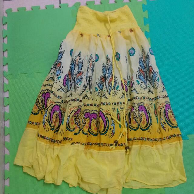 渡假風長裙